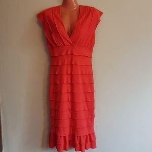 Max Studio Layered Dress EUC